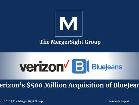 Verizon's $500 Million Acquisition of BlueJeans