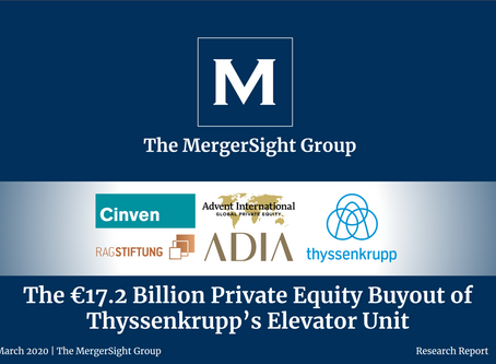 The €17.2 Billion Private Equity Buyout of Thyssenkrupp's Elevator Unit