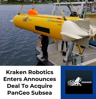Kraken Robotics Enters Announces Deal To Acquire PanGeo Subsea
