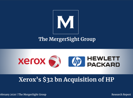 Xerox's $32 billion Acquisition of HP