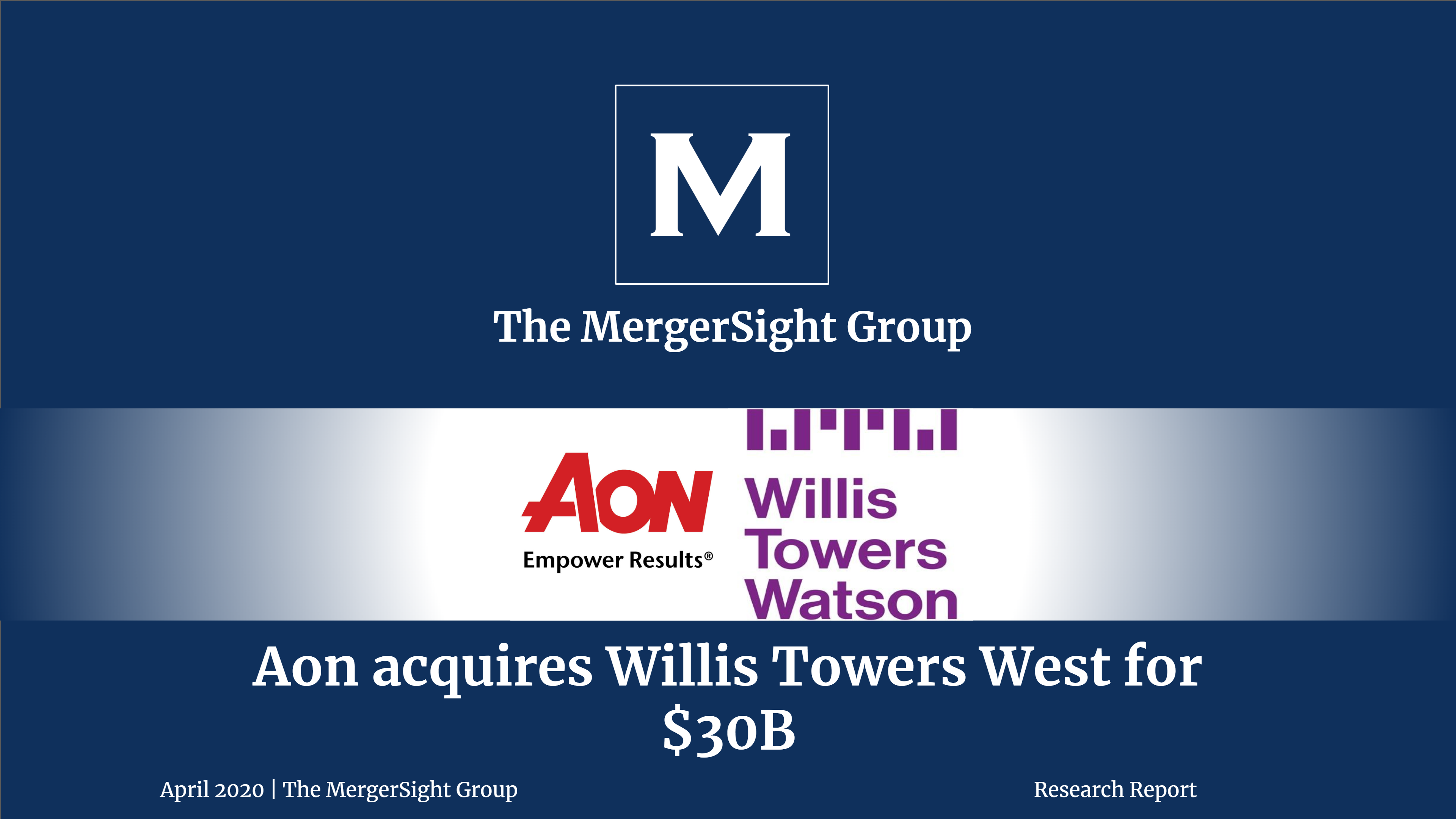 Aon S 30 Bn Acquisition Of Willis Towers Watson