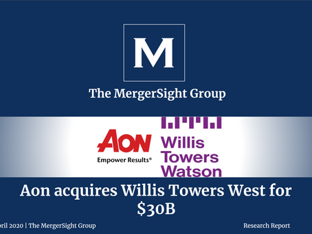Aon's $30 bn Acquisition of Willis Towers Watson