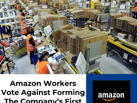 Amazon Warehouse Workers Vote Against Forming The Company's First Union