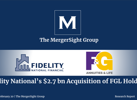 Fidelity National's $2.7 bn Acquisition of FGL Holdings