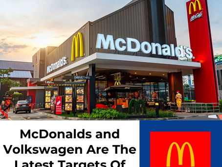 McDonalds and Volkswagen Become Latest Targets Of High-Profile Data Breaches