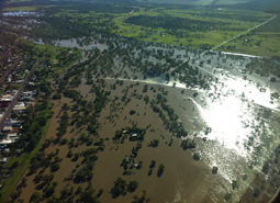 Charleville Warrego River - Feb 2012 flood