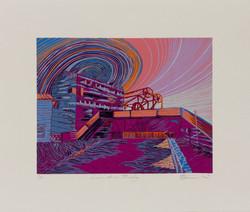 'Locomotive Bridge'-Scarlette Homeshaw