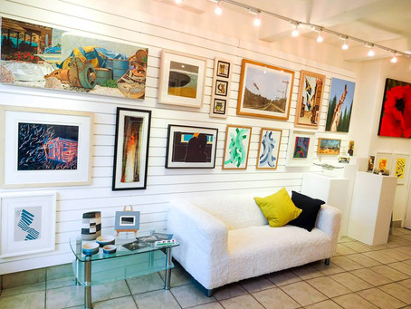 Work Currently Exhibited at 'Enjoy Art' Gallery, in Marsden.