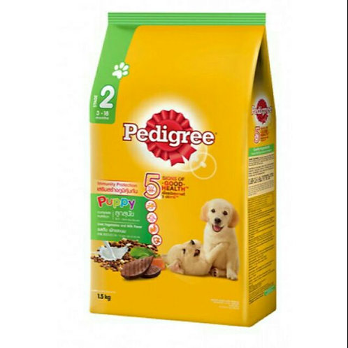 Pedigree Puppy Liver, Vegetables & Milk 1.5KG