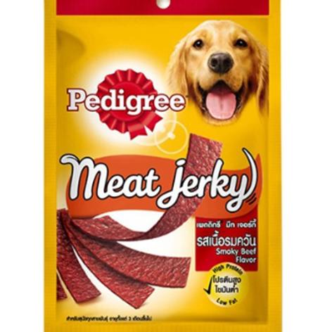 Pedigree Meat Jerky Smoky Beef 80G (Minimum order of 4 Packs)