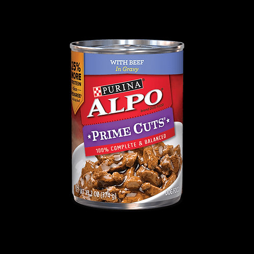 Alpo Prime Cuts Beef Canned 374G 12pcs