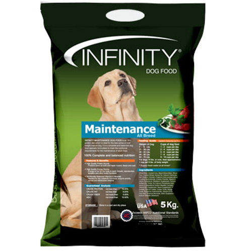 Infinity Maintenance Adult 5KG (ONE day advance ordering)