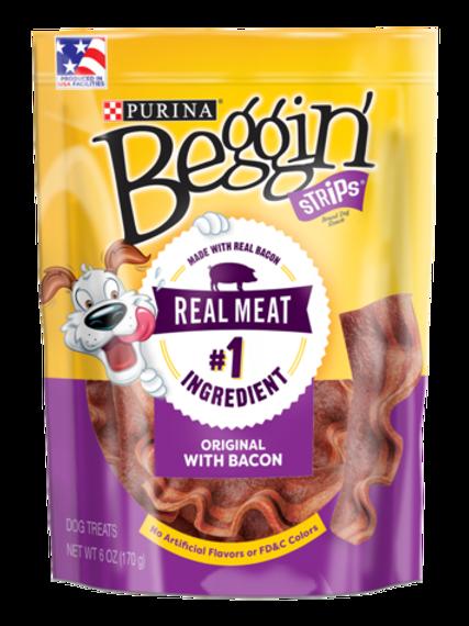 Beggin' Strips Bacon 85G