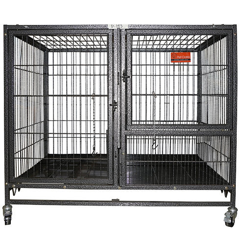D-193 Dog Cage with Divider