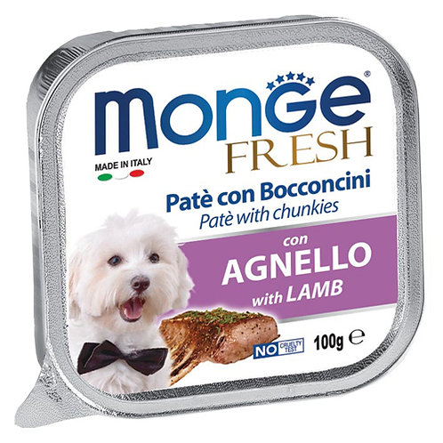 Monge Fresh Lamb/Agnello 100G (ONE day advance ordering)