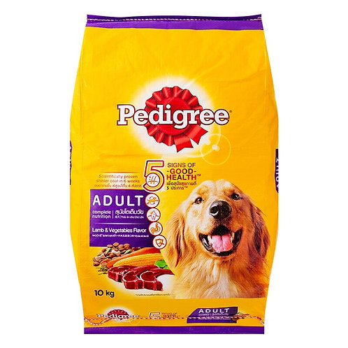 Pedigree Adult Lamb & Vegetable 10KG