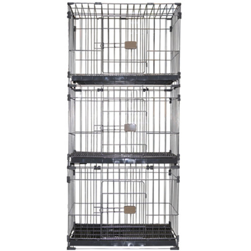 3 Layer Wire Cage (Dog)