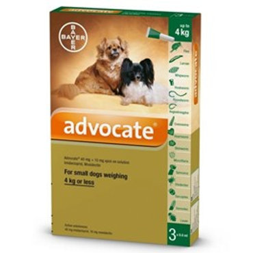 Advocate Small Dog (4KG or less)