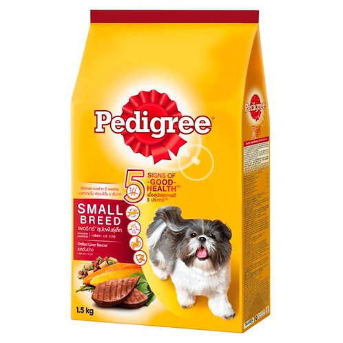Pedigree Small Grill Liver 1.5KG