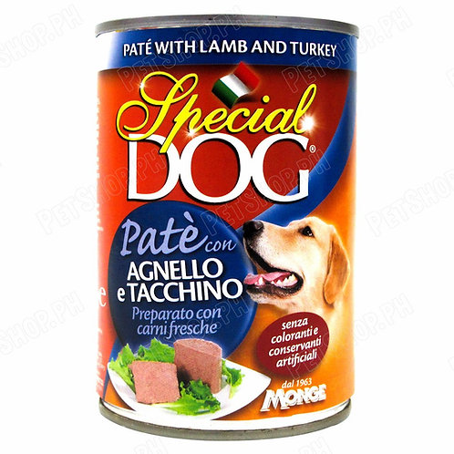 Special Dog Pate with Lamb & Turkey 400G