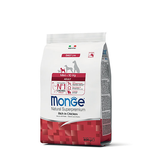 Monge Natural Super Premium - MINI - Adult 800G (ONE day advance ordering)