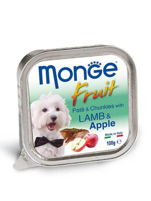 Monge Fruit Lamb/Apple 100G (ONE day advance ordering)