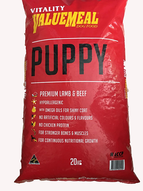 Vitality Value Meal Puppy 20KG