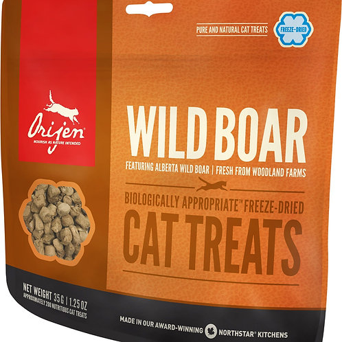Orijen Wild Boar Cat Treats 35G