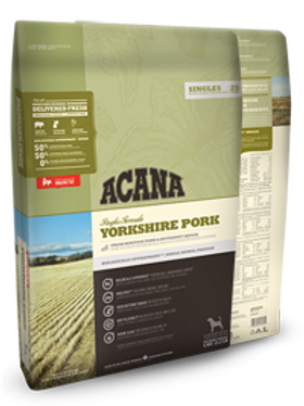 Acana Puppy & Adult Yorkshire Pork (for Sensitive Skin) Grain Free 340G