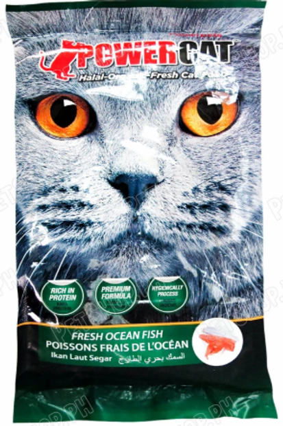Powercat Fresh Ocean Fish 500g (Minimum order of 3 Packs)
