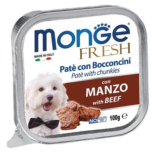 Monge Fresh Beef/Manzo 100G (ONE day advance ordering)