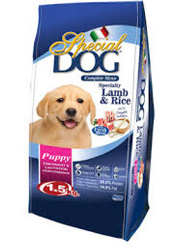 Special Dog Puppy Lamb & Rice 1.5KG (ONE day advance ordering)