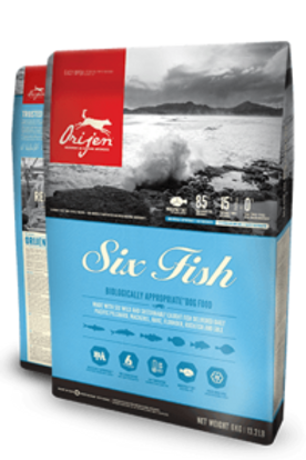 Orijen Six Fish Cat Hypoallergenic Grain Free 340G
