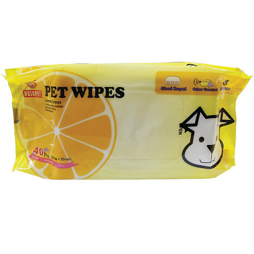 Hushpet Wipes (M) 40's
