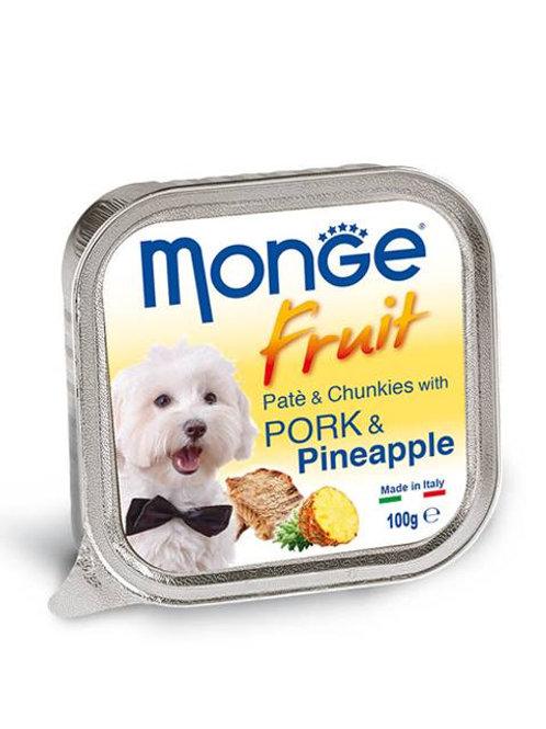 Monge Fruit Pork/Pineapple 100G (ONE day advance ordering)
