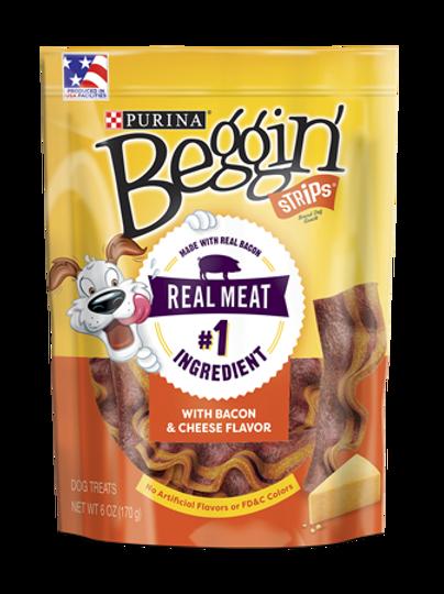 Beggin' Strips Bacon Cheese 170G