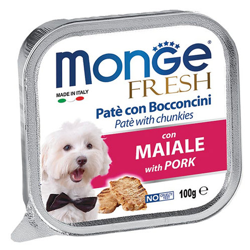 Monge Fresh Pork/Maiale 100G (ONE day advance ordering)