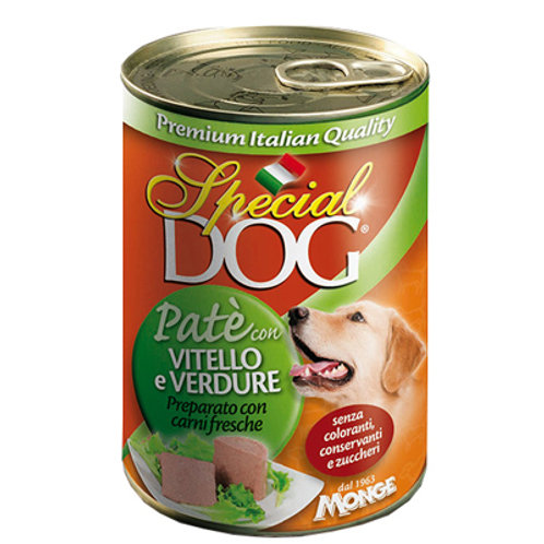 Special Dog Pate Veal and Vegetables 400G 10pcs