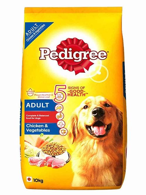 Pedigree Adult Chicken & Vegetable 10KG