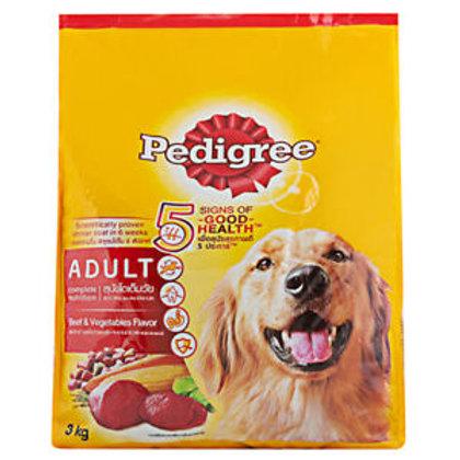 Pedigree Beef & Vegetable 3KG
