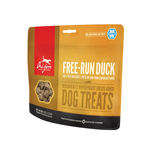 Orijen Free-Run Duck Dog Treats 42.5G