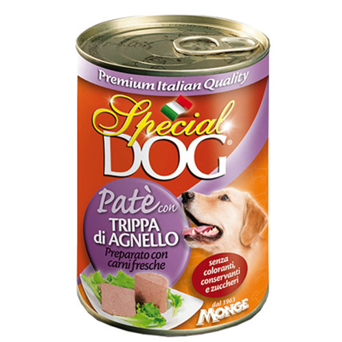 Special Dog Pate with Lamb Tripe 400G
