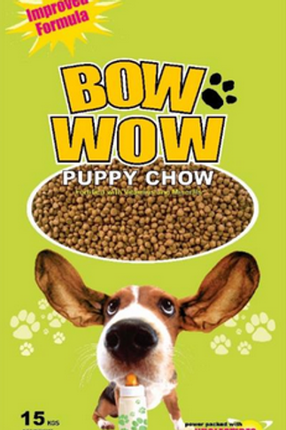 Bow Wow Puppy Chow 15KG