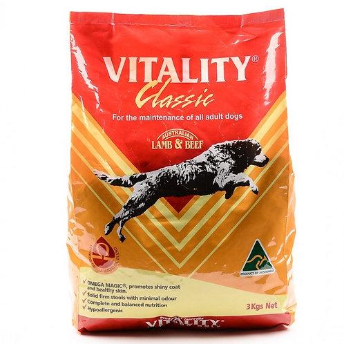 Vitality Classic Lamb & Beef 3KG