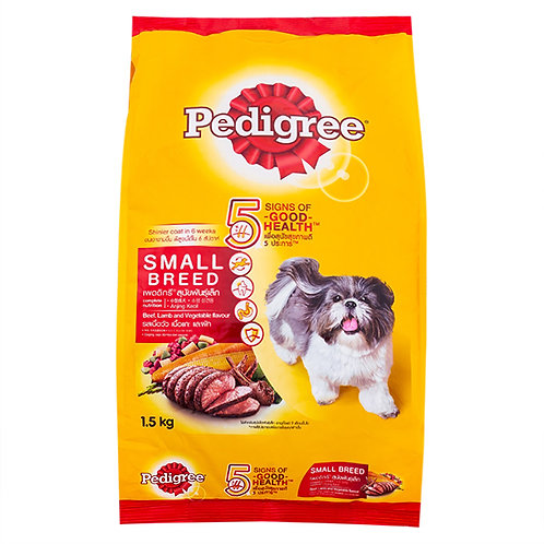 Pedigree Small Beef, Lamb & Vegetable 1.5KG