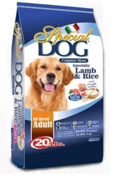 Special Dog Adult Lamb & Rice 20LBS (ONE day advance ordering)