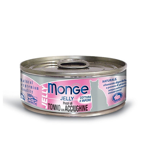 Monge Jelly Tuna with Anchovies 80G (ONE day advance ordering)