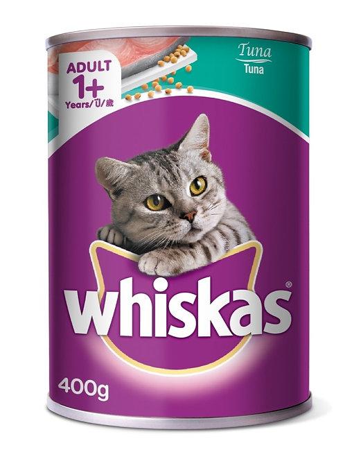 Whiskas Tuna 400G (Minimum order of 4 Packs)