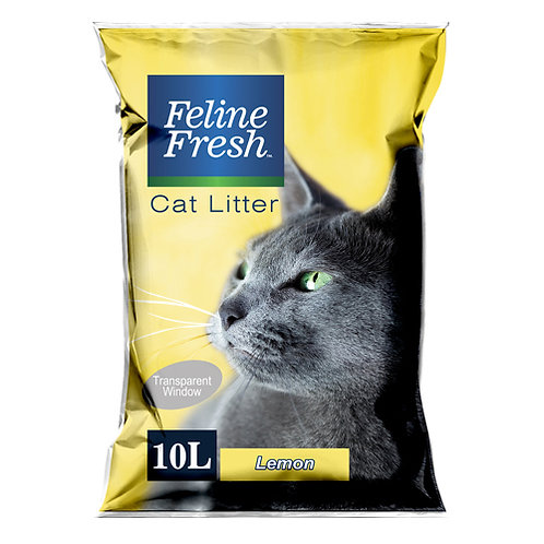 Feline Fresh Cat Litter 10 Liters (Lemon)