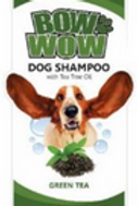 Bow Wow Dog Shampoo Green Tea 500ML
